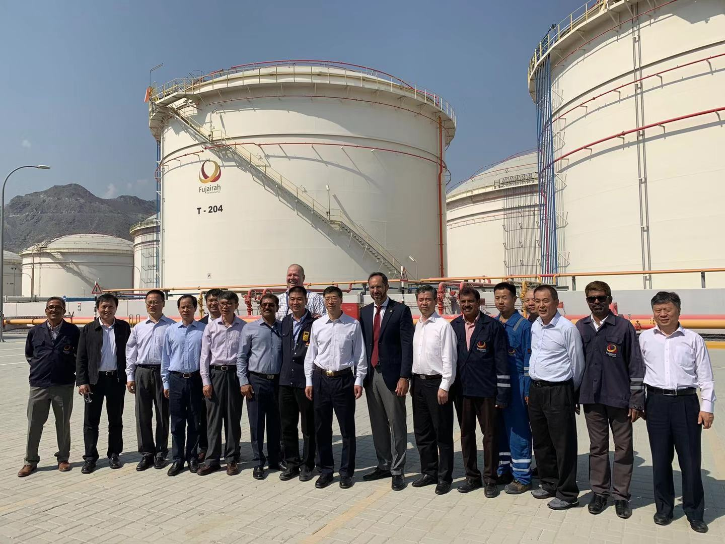 Sinopec Delegation visiting